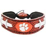 GameWear, Inc. Clemson Tigers Classic Football Bracelet