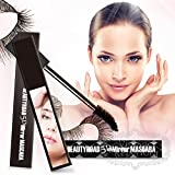5D Mirror Eye Mascaras Makeup Long Eyelash Fiber Curling Lash Waterproof Black Lady Volume Brush Gel Longlash New