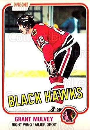1975-76 Topps #272 Grant Mulvey Chicago Black Hawks Autographed Hockey Card Rook