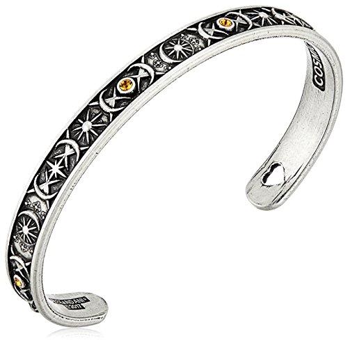 Alex and Ani Cosmic Balance Cuff Rafaelian Silver Bangle Bracelet