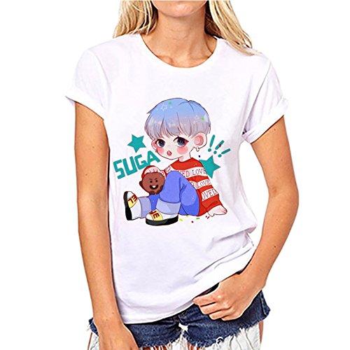 Discovery Kpop BTS Femme T-Shirt