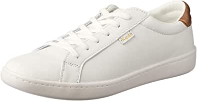 Keds Australia ACE LTT Leather Women's Fashion/Indent (Limited in-Season replen), White/Rose Gold