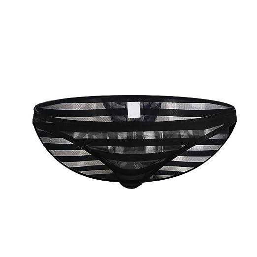 405fc8ea72d HYIRI Novelty Fashion Men Underwear Sexy Comfortable Femme Harajuku Breathable  Underpants Black