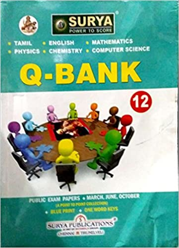 12th Standard Surya Question Bank Computer Science Group English