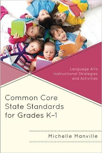 Download E Books Common Core State Standards For Grades K 1