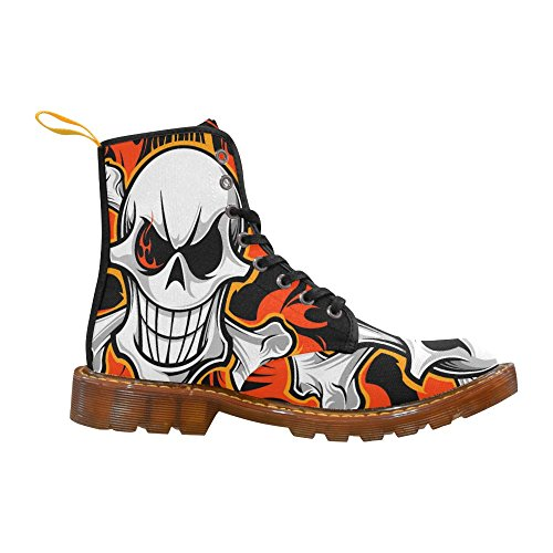 skull Boots Fashion Men LEINTEREST Shoes For Martin skull LEINTEREST BawEnH7S