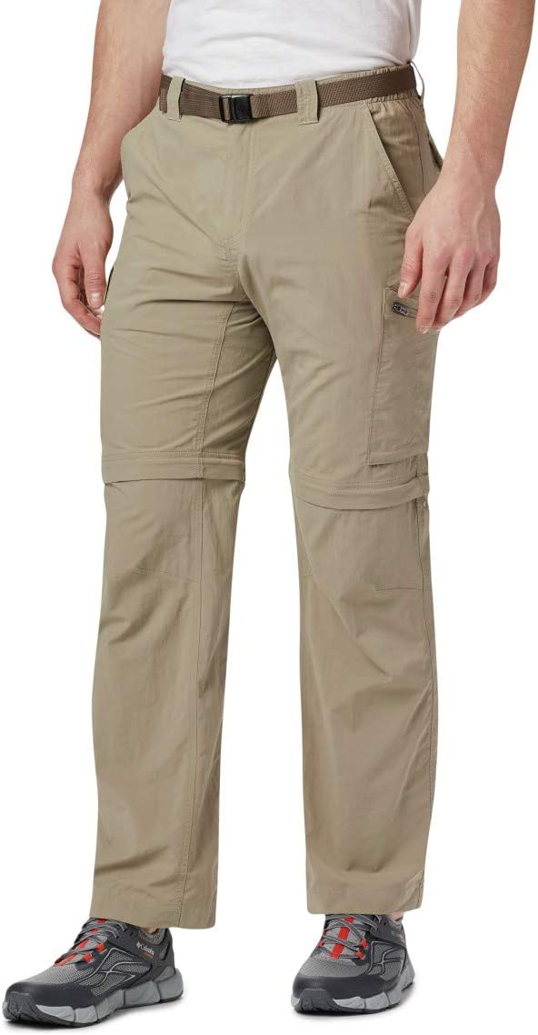Columbia Mens Silver Ridge Convertible Pant, Breathable, UPF 50 Sun Protection
