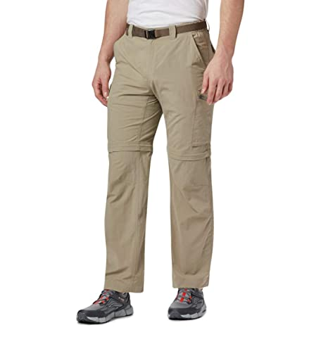 Pantalon convertible Columbia Silver Ridge II Convertible Pant coloris Fossil