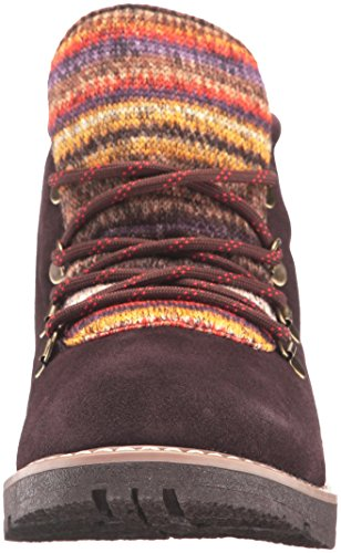 S'Mores Bootie Chocolate Skechers Women's Alpine BOBS Ankle 7B0fWcWtg