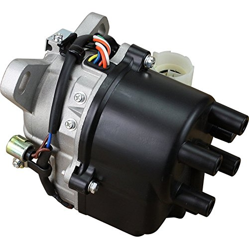 AIP Electronics Complete Premium Electronic Ignition Distributor Compatible Replacement For 1988-1991 Honda Civic CRX Prelude 1.6 L 2.0L With Tec Distributor ODBO Oem Fit ()