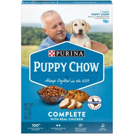 *Purina Puppy Chow Complete Dry Dog Food, 16 Oz. Pack of 2