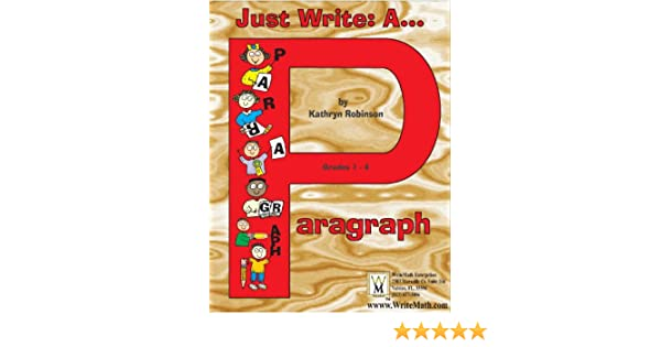 Just Write: A Paragraph | Paragraph Writing Activities - 2nd, 3rd ...