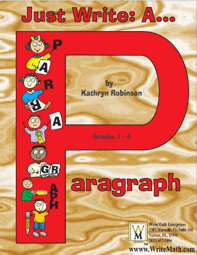Just Write: A Paragraph | Paragraph Writing Activities - 2nd, 3rd, 4th Grade (Just Write)