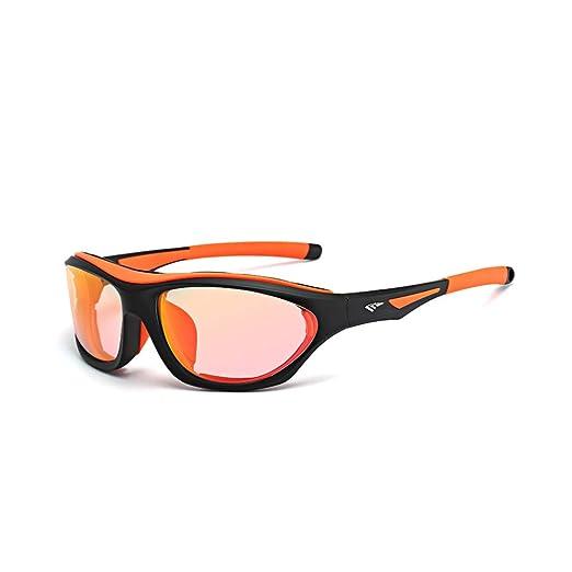 c2e4acf5225 Amazon.com  Gao Te Outdo Motorcycle Goggles Windproof Men s Sunglasses  Color Discoloration Eye Movement Glasses  Clothing