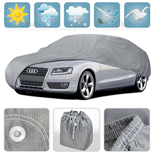 Car Cover for BMW 8 Series Outdoor Waterproof Sun UV Dust Breathable 4 Layers