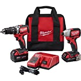Best Brushless Drills - Milwaukee 2799-22CX M18 Cmpt Brushless Hammer Drill Impact Review