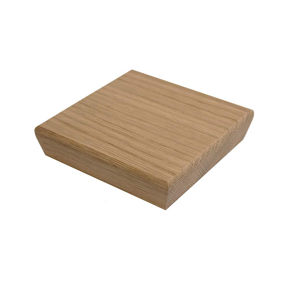 Stair Newel Post Cap Oak Square Solid Wood