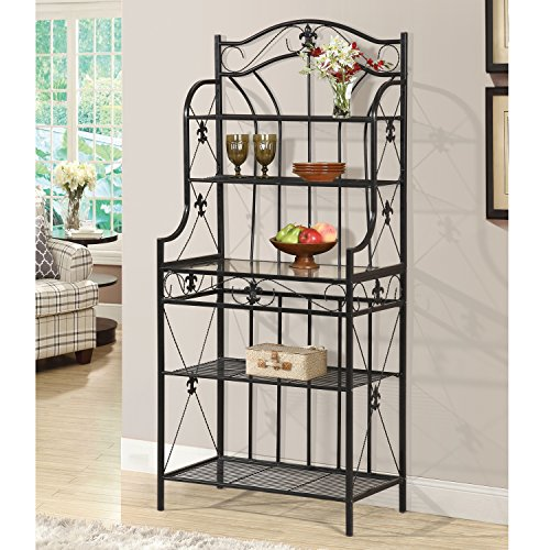 Home Source R-0019 Black Baker's Rack by Home Source (Image #1)