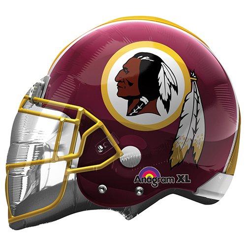 (Anagram 26302 NFL Washington Redskins Football Helmet Foil Balloon, 21