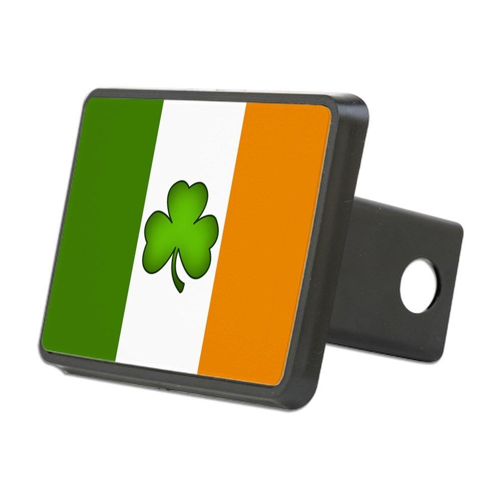 CafePress - Irish Flag Shamrock - Trailer Hitch Cover, Truck Receiver Hitch Plug Insert