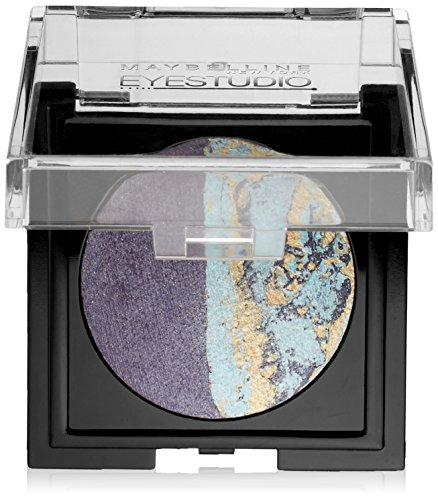 - Maybelline New York Eye Studio Color Pearls Marbleized Eyeshadow, Duo Downtown Denim, 0.09 Ounce