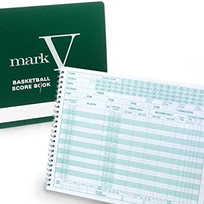 MSMARKBK TIDE RIDER Mark V Basketball Scorebook