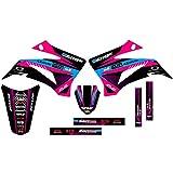 Senge Graphics 2008-2019 Yamaha TTR 125, Surge Pink Graphics Kit