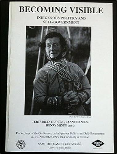 Amazon.com: Becoming Visible: Indigenous Politics and Self ...