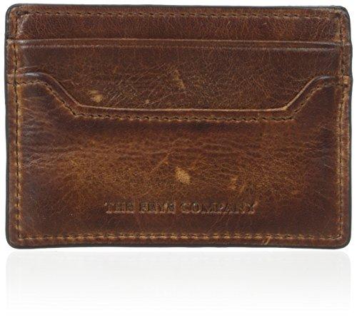 FRYE Men's Logan Antique Pull Up Card, Cognac, One Size,Standard (Cognac Mens Antique)