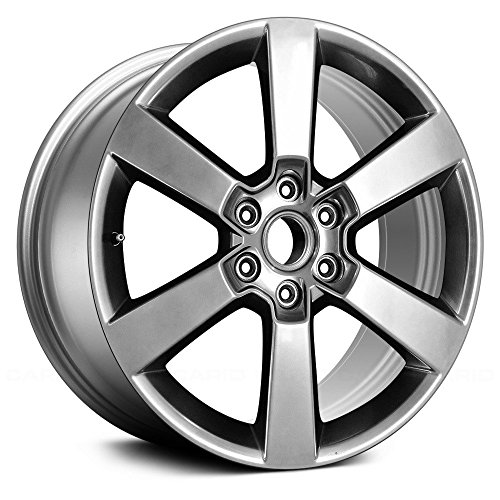 Replacement 6 Spokes Hyper Silver Factory Alloy Wheel Fits Ford F-150