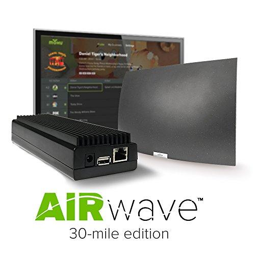 Hdtv Devices (2017 Mohu AirWave Premium Edition Wireless OTA Antenna, Programming Guide, Mohu TV app (30 Mile Range)- Discontinued)