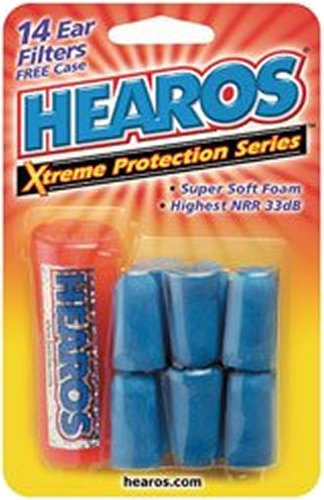 Hearos Bouchons d'oreilles, Protection Xtreme Series, 7 comte