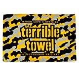 NFL Pittsburgh Steelers Camo Terrible Towel, Gold