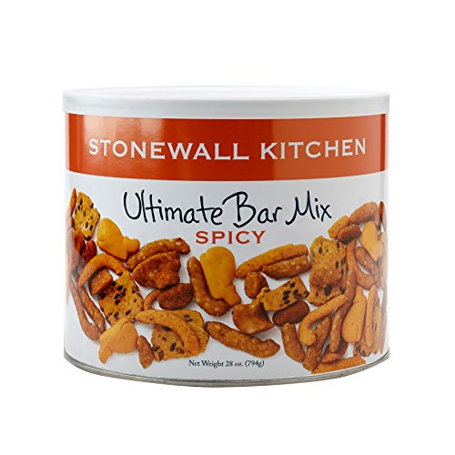 Stonewall Kitchen Spicy Ultimate Bar Mix, 7 Ounces by Stonewall Kitchen