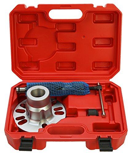 8milelake Hydraulic Wheel Hub Puller with Hammer Tool Kit 10 Ton ()