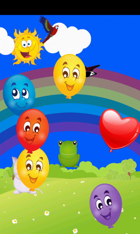 amazon com baby touch balloon pop game appstore for android