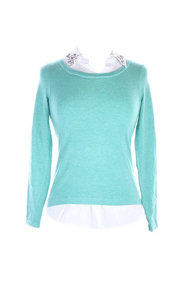 INC International Concepts Womens Layered-Look Sweater