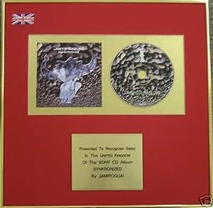 Jamiroquai- CD Album Award - Synkronized