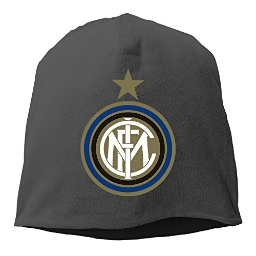 - Crodtruego Cuff Inter Milan Soccer Club Beanie Hunting Caps Hats Black