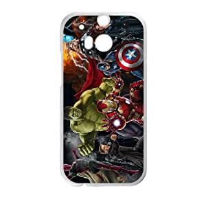 HTC One M8 Phone Case for Classic movies Hulk Iron Man Thor Theme pattern design GCMHIMT950851