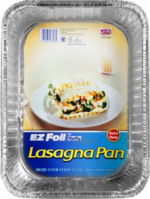 Reynolds Lasagna Pan with Lid, 14 x 10 x 3 Inch