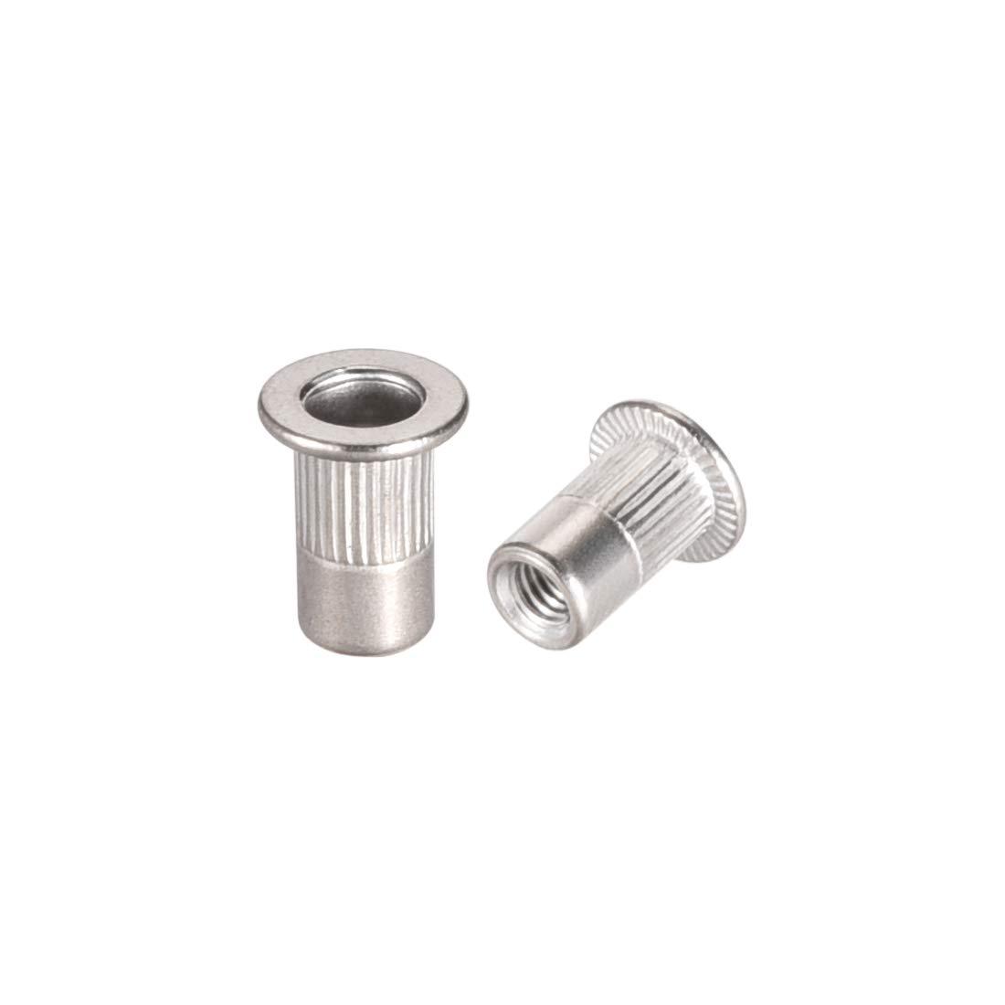 M5 Rivet /Écrou /à t/ête plate Nutsert en acier inoxydable 304 20 Pcs