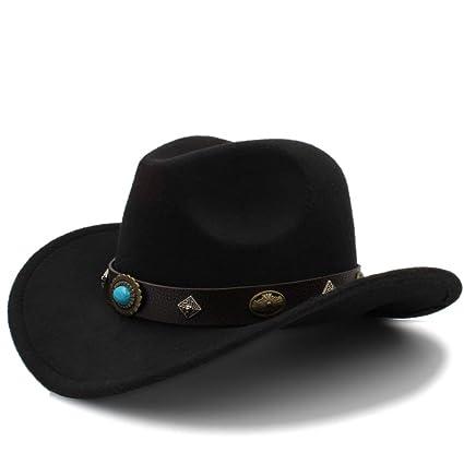 Otoño Invierno Cálido Gorras 2018 Nuevo Sombrero de Vaquero Occidental Para  Hombres Mujeres Al Aire Libre 4ab2bdfb7e6