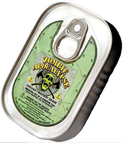 Zombie Apocalypse Survival Kit in a Sardine Can (Zombie Survival Can compare prices)