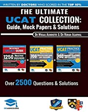 The Ultimate UCAT Collection: 3 Books In One, 2,650 Practice Questions, Fully Worked Solutions, Includes 6 Mock Papers, 2020 Edition, UniAdmissions