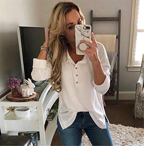 Loose Bouton lgantes Blouse Chemisier Chic Top millenniums Chemise Ceinture Ray Manches Tops Blanc Casual Fashion Automne Floral Longue 0dZwqIxwO