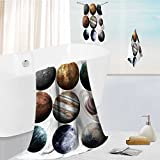 Ultra Soft Bathroom Towels Set isolated set of planets in the solar system elements of this image furnished by nasa 1 Shower Towel 1 Hand Towel and 1 Face Towel