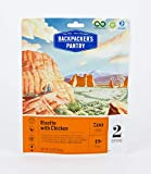 Backpacker's Pantry Risotto with Chicken, 2 Servings Per Pouch, Freeze Dried Food, 23 Grams of Protein, Gluten Free