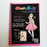 Princess Scratch and Sketch Art Book For Kids Art