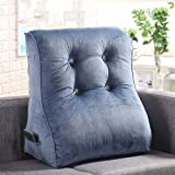 Solid Color Sofa Cushion/Large backrest/Bed Pillow/Triangle Waist Lumbar/Office seat Cushions